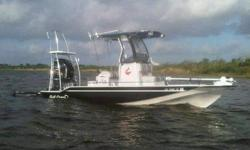 Yamaha SHO 250 w/289 hours on motor. Factory motor warranty good until 11/2016 SS Power Tech 4 blade prop 101 lb Minn Kota Rip Tide ST w/remote Fusion sound system Lowrance HDS 10 w/down side scan sonar LED Lightning on floorboard On board battery charger