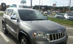 I have a 2011 Jeep Grand Cherokee Overlands for sale. This truck is fully eq all the extras the miles are 37,567 as of now but I still drive it every day. Truck is very clean no dents or marks on it ! Serious inquries only Im trying to get a larger truck