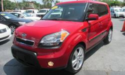 BAD CREDIT NO CREDIT NO PROBLEM   THIS IS A SLEEK SMOOTH LOOKING WAGON THAT IS FUN TO DRIVE AND HAS COMFERT AND SPACE TO GO ON THOSE NICE ROAD TRIPS OR JUST TO TAKE YOU AROUND TOWN.. THIS KIA SOUL HAS A PEPPY LITTLE 2.0L DOHC ENGINE WHICH