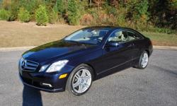 2011 MERCEDES BENZ E350 2 DOOR COUPE CAPRI BLUE EXTERIOR WITH AN ALMOND BEIGE LEATHER INTERIOR PREMIUM PKG 2 WITH XEON LIGHTS PANORAMIC SUNROOF FACTORY GPS NAVIGATION LED LIGHT PKG AMG WHEEL PKG HEATED AND VENTILATED FRONT SEATS ORTHO FRONT SEATS