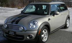 2011 MINI Cooper Clubman Sparkling Silver Metalic with Tuscan Tan leather interior only 31,000. miles. This low milage MINI is in a class of its own. Since there are so many combinations to a MINI Cooper it makes each one independantly unique. Color,