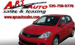 CLICK HERE FOR MORE IMAGES AND INFO: http://clients.automanager.com/007066/vehicle-details/8f17e8559c95614d974bcad83d325640 (520) 750-9776 A.P'S Auto Sales 3747 E. Speedway Blvd. Tucson, AZ 85716 2011 Nissan Versa 4-Door Hatchback Mileage: 50,084 Engine: