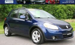 2011 SUZUKI SX4 AWD LOADED! Navigation! Heated Black Cloth Interior!! Switchable 2wd/ AWD / Diff Lock! 1 Owner Clean Cra Fax! 170K Highway Miles! LIKE NEW INSIDE AND OUT! Power Windows/ Locks and Mirrors! Factory Books/Mats and Multiple Keys! VIN