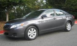 Rare 2011 Toyota Camry LE with leather and sunroof...!!! 41,700 miles, Alloy wheels, Metallic Gray Clearcoat on Light Gray Leather Seats, Power Sunroof, Non-smoker unit, Books and 3 keys, Beautiful condition inside and out, Serviced and ready to drive
