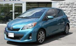 FOR UP-TO-DATE PRICING AND MORE PHOTOS, CLICK THIS LINK: http://www.crossroadsny.com/used/Toyota/2012-Toyota-Yaris-Ravena-NY-28ed79170a0e0ae7308e83ec72cc5031.htm?searchDepth=1:1 2012 TOYOTA YARIS SE HATCHBACK! Sporty Little Gas saver! Alloy wheels with