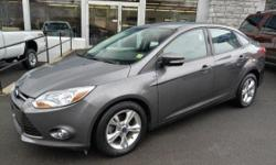 LOW MILES!! LIKE-NEW!! 2012 Ford Focus 'SE' Sedan!! Winter Package; Heated Seats; Power Windows; Locks; and Mirrors; Heated Side Mirrors; AM/FM/CD; Sirius; Sync; Air Conditioning, Steering Wheel Controls, Alloy Wheels, Rear Spoiler, All-Weather Floor