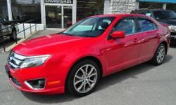 2012 FORD FUSION 'SE' SEDAN!! Power Moonroof; Power Driver Seat; Power Windows, Locks, and Mirrors; AM/FM/CD; Sirius; Sync; Air Conditioning; Steering Wheel Controls; Cruise Control; 18 Alloy Wheels; Rear Spoiler; and Keyless Entry!! All of our inventory