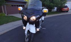 2012 Goldwing GL1800, 2500 in extras