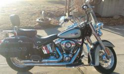 Very clean 2012 Harley Heritage Softail. 3,677 miles Extras: Pipes, brake pedal, grips, passenger footboards, engine guard, luggage rack DO NOT NEED HELP SELLING!! I just don't ride anymore. NO TRADES, unless for a very nice bass boat Contact Jeff