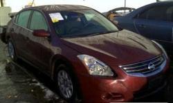2012 Nissan Altima 4dr Sdn I4 Man 2.5 S. RUNS AND DRIVES VIN #:1N4AL2AP4CC192325 Miles:39029Miles Year: 2012 Engine:4 CYL 2.5L Fuel:Gas Exterior Color:Burgundy Interior