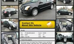 Nissan Sentra 2.0 Automatic Black 66887 4 Cyl 2.0L 2012 Sedan Crossroads Ford 518-756-4000