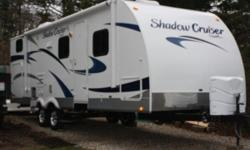 Like new 2012 Shadow Cruiser w/slide. Used only a handful of times. Bunk bed, queen room, table bed, and fold out couch bed. Sleeps 8. Dont want to part with it, but we just dont have enough time to use it. Please serious