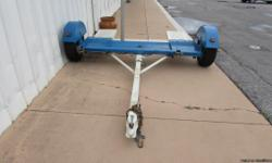 2012 Stehl Tow Dolly ST80TD Serial/VIN 531BT1110CP046412 Shipping Weight: 540lbs., GVWR: 2,999 Lbs., Ball: 2?, Tongue: 5,000 lbs., SAE CLASS-III, Tires: P205/75R14 ? Year: 2013 - See more