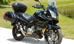 2012 Suzuki DL1000 Vstrom Adventure bike with 20028 miles. This is one awesome bike and it has been really taken care of. I just put 2 new tires on it. It runs as good as new and has plenty of power. These are awesome bikes and they are very fuel