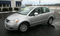 Master Motors of Buffalo 6575 S. Transit Rd. Lockport, NY 14094 2012 Suzuki SX4 is a very sharp sedan that delivers tremendous value with great LOW MILES! A 2012 with 40,000 miles at such a money saving price?!?! This Suzuki is a MUST SEE and comes