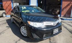 Welcome to 562 Auto Exchange at 13110 Lakewood Blvd Bellflower CA 90706. Come and take a look at this 2012 Toyota camry le stock #136053 Black exterior and Gray interior. Your job is your credit, we offer multiple loan options aith finance companies and