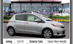 Vehicle Emissions: Ulev Ii, Tires: Prefix: P, Overall Height: 59.4, Rear Head Room: 37.6, Coil Front Spring, Tilt-Adjustable Steering Wheel, Fold Forward Seatback Rear Seats, Bucket Front Seats, Regular Front Stabilizer Bar,