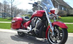 2012 victory crossroads sunset red