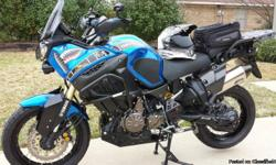 FOR SALE: 2012 Yamaha XT1200Z Super Tenere For sale is this beautiful and extremely accessorized 2012 Yamaha XT1200Z Super Tenere. This Super Tenere is in excellent condition, and perfect working order. It only has 5483 miles on it, and it just had