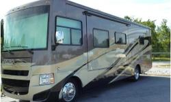 2013 Tiffin Motorhomes Allegro Open Road 32', MODEL 32 CA. We toured US for 10 months happily and in comfort. Allegro purchased for superior storage space. Living: walk around queen bed, hanging closets, separate shower/vanity, hide-a bed sofa, recliner