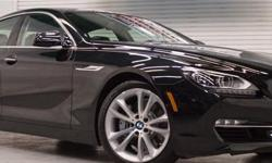 Menu Price $53950.00! Here's a stunning example of one of the latest and greatest from BMW. The 640i Gran Coupe is a beautifully styled and highly engineered vehicle that is gorgeous to look at, and even better to drive. This sweetheart is well equipped