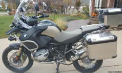 Offered here is my 2013 BMW GSA-1200 Anniversary Edition in fantastic condition with extremely low miles. This bike is THE ultimate adventure  style bike. BMW's Famous German engineering does not disappoint in this line of bikes. This on-and-off road