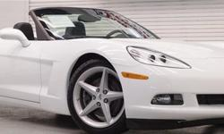 Less than750 miles. thats right 750 miles. Clean Carfax, One Owner! Finished in Artic White with Black Top and Black interior, and less than a thousand miles! The quintessential American sports car! Don't miss out on this