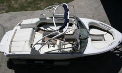 MAKE AN OFFER!! RPM SPORTS PROVIDES FINANCES!! PAYMENTS AS LOW AS $180 A MONTH!! This is an exceptional boat. Ready for the lake. Wakeboarding, skiing, or just a nice ride. RPM sports only take the best of the best in used boats, so you our customer pay