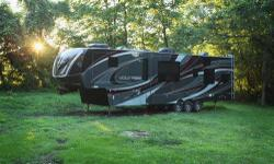 This 5th wheel is highly sought after and hard to find because of the full body paint. It is completely loaded with tons of features and extras. I've listed most of them below however you can find a video of a similar toy hauler (that does not include the