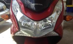 2013 Honda PCX 150. Runs and everything works perfectly. Adult owned (47 years old). Goes 130 miles on a tank (1.5 gallons) of gas. Will easily go 65 miles per hours. Nice looking bike. Has 6400 miles on it. Seroius inquiries only. No free