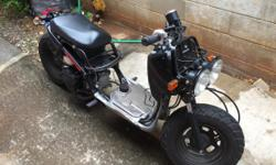 for sale is a 2013 Honda Ruckus 50cc, great project bike and fun to ride around with. Great condition, nothing wrong. Well maintained, bike only has 643 miles on it. reason for selling is because im planning on getting a motorcycle and no longer will be