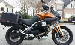 The bike is excellent condition and has had the double conrod recall completed under warranty. The bike looks and performs like new. It also has heated grips connected to the factory connections. There are only two minor blemished on the gas tank