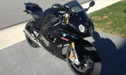 2013 Sapphire Black BMW S1000RR Showroom Condition - Very Low Mileage Dynamic Traction Control (DTC) - Heated Grips - Shift Assist 2013 BMW S1000RR in Sapphire Black with only 565 miles. It has all of the available options, including Dynamic Traction