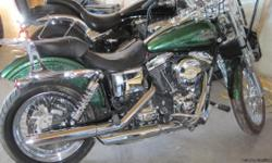 2013 STREET BOB HARLEY, PERFECT CONDITION, 1500.00 IN ACCESSORIES ON THE BIKE.