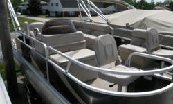 2013 SunChaser Oasis Fish & Cruise, 20HP Yamaha Motor, Bear Trailer, cover inc. Tax and reg. extra.