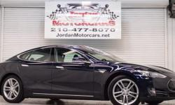 Only 2013 Tesla Model S P85 available for sale in San Antonio. We are Jordan Motorcars(Jordan Ford). Top shape, Very low miles. Like New. You don't have to travel to Austin, Houston or Dallas to not get one. You don't have to Ebay it or Craig it. You