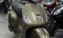 2013 Vespa GTS 300 Bronze only 2 left. msrp $6,199, now $5,299  http://themotorcycleshopsa.com/new-2013-vespa-gts-300-bronze-2-left/   The Motorcycle Shop 2423 Austin Hwy San Antonio, TX 78218 210 654-0211
