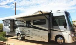 """MUST SELL-2013 Winnebago Sightseer 33C, Absolutely the best floor plan designed today !!! Built on a heavy duty Ford chassis with 22.5"""" MICHELIN tires and alloy wheels. TYRON tire blow-out protection added. The beauty of this coach starts on the outside"""