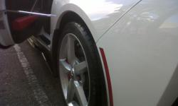 WHEELS AND TIRES FOR SALE: From 2104 Stingray. These tires and wheels are pull offs shortly after purchase of car. Less than 3,000 miles. No scratches or imperfections. Tires have nearly full tread. These wheels do include the center caps and lug nuts,
