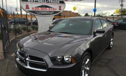 Gray 2014 Dodge Charger SE for sale in Tucson, AZ. 36,991 miles, gray interior. For more information visit our website at www.azdrivellc.com.
