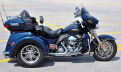For sale is a PERFECT 2014 Harley TriGlide covered in custom accessories. No expense was spared on this trike and it is ready to roll for the lucky new owner.Below isa list of parts added to the Liquid Cooled V-Twin Three wheeled touring machine!