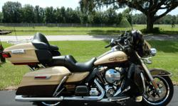 2014 HARLEY DAVIDSON ULTRA CLASSIC LIMITED The 2014 Harley-Davidson® Ultra Limited model FLHTK is a premium featured touring bike full of authentic Harley-Davidson grand American touring style. As part of Project RUSHMORE, the Ultra Limited has been