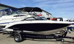 Get ready to make waves with this incredible 2014 Scarab 195 HO Jet Boat! This power boat comes with a sleek and sporty design that will add a fresh, fun approach to your outdoor adventures. With the powerful 195 HO Impulse engine you can rest