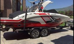 2015 Chaparral 264 Extreme For Sale in South Ogden, Utah 84405  This 2015 Chaparral is 26' long with an 8' beam, and with under 50 hours it is still a new boat. Get ready to hit the waves in this boat that has all the bells and whistles,