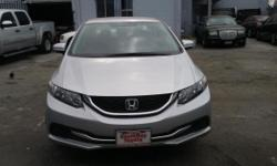 2015 Honda Civic LX Automatic 4 Door Silver Exterior Black Interior Salvage Title No Frame Damage Working Air Bags Reliable, runs like new, good with gas 9462 Miles $10,500 obo Se habla español (323)752-7011 ask for Ramiro Jr