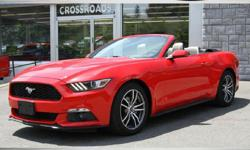 FOR UP-TO-DATE PRICING AND MORE DETAILS AND PHOTOS, CLICK THIS LINK: http://www.crossroadsny.com/used/Ford/2015-Ford-Mustang-Ravena-NY-e3da47a00a0e0ae815e862d8e74bf739.htm?searchDepth=1:1 2015 FORD MUSTANG CONVERTIBLE ECO BOOST! 32K Spotless Miles!