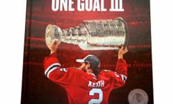 """Asking $50.00. CALL: 312-951-8082 **Local Calls and Pick-Up Preferred, will ship anywhere in the continental USA for $15.00** 2015 Stanley Cup Champions CHICAGO BLACKHAWKS ONE GOAL III BOOK - SEALED. Brand new, sealed, """"ONE GOAL III The Inside Story of"""