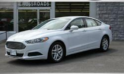 FOR UP-TO-DATE PRICING AND MORE PHOTOS, CLICK THIS LINK: http://www.crossroadsny.com/used/Ford/2015-Ford-Fusion-Ravena-NY-77b2f4700a0e0adf001605de98cbb67c.htm?searchDepth=1:1 2015 FORD FUSION SE SEDAN! 17K Like NEW Miles! White Exterior with Tan Interior