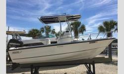 2016 Boston Whaler 190 Outrage, Looking for a versatile, safe, boat at a bargain price?Complete and good to go, this 19', 2016 Boston Whaler 190 Outrage is essentially a brand new boat. Purchased 6 mos. ago, all warranties in force and transferrable, kept