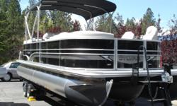 PRISTINE! FREE TRAILER, DESTINATION CHARGE, FREE DEALER PREP, PROP, AND BATTERY, Babbito underdeck LED Lighting, High Back Reclining Lounge Chairs, Ski Tow, Changing Room Curtain, Premium Sound Stereo System. This Boat is the Upgraded boat without the